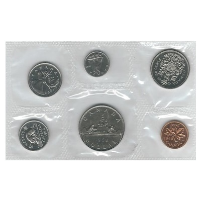 1968 Canadian Mint Uncirculated Set